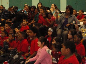 School Assembly Crowd